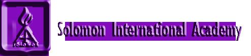 أكاديمية سليمان الدولية – Solomon International Academy
